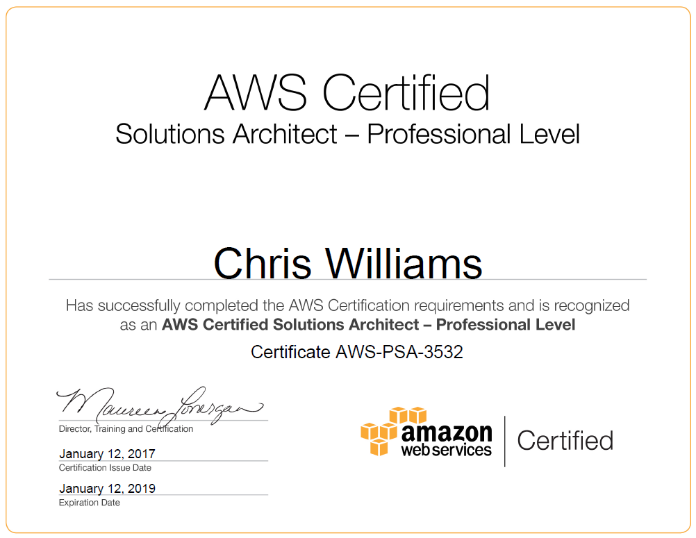 My Experience With The Aws Solutions Architect Pro Aws Psa Exam