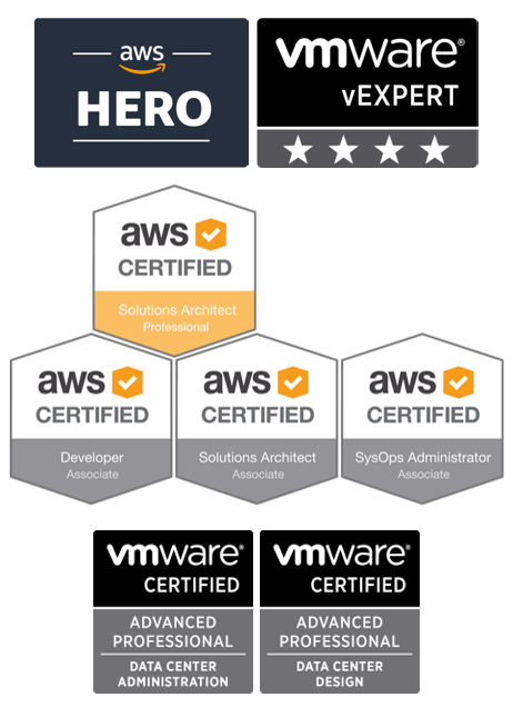 certifications and awards